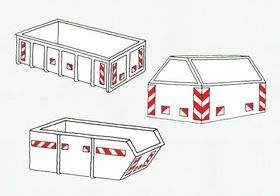 - Containerreflekser 16 stk