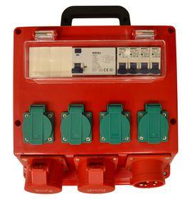 Blue elect - Byggestrømstavle 16A K-model