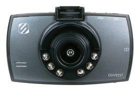 Scosche - DVR Dash Cam bilkamera, inkl. 8GB SD kort