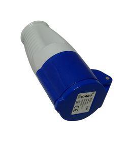 Gripo - CEE mellemled, 16A, 230V, blå
