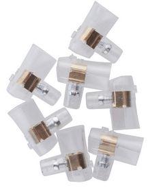 E-Line - Samlemuffe enkelt 2,5mm² neutral m/Kombikærv, á 6 stk