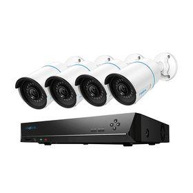 Reolink - Overvågningskamera Kit PoE m/4 stk. kamera