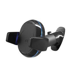 Scosche - Lader magicGRIP Dash 10W Qi trådløs m/telefonholder t/Bil