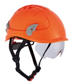 Cerva - Klatrehjelm Alpinworker vent. Brille Hi-viz orange
