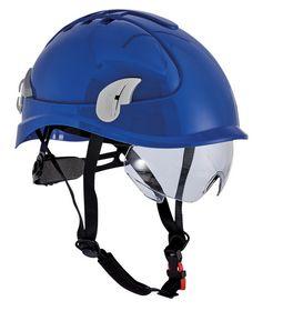 Schachner - Klatrehjelm Alpinworker vent. Brille blå