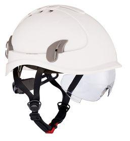 Cerva - Klatrehjelm Alpinworker vent. Brille hvid