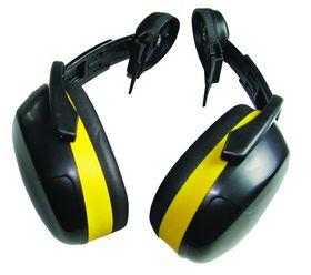 Ear Defend - Hjelmhøreværn ED 2 Medium Sort/gul