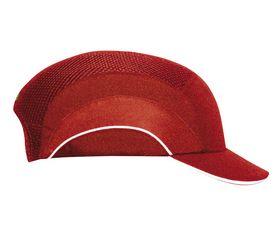 JSP - Bump Cap A1+ rød m/5 cm skygge