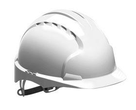 JSP - Sikkerhedshjelm EVO2 ventileret Hvid