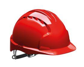 JSP - Sikkerhedshjelm EVO2 ventileret Rød