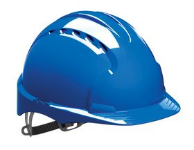 JSP - Sikkerhedshjelm EVO2 ventileret Blå