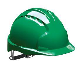 JSP - Sikkerhedshjelm EVO2 ventileret Grøn