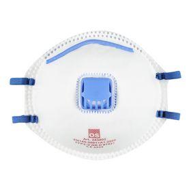 OS - Støvmaske m/ventil FFP2 á 10 stk