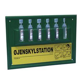OS - Øjenskylletavle m/6 flasker á 30 ml