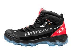 Airtox - Sikkerhedsstøvlet GL6 Sort/rød