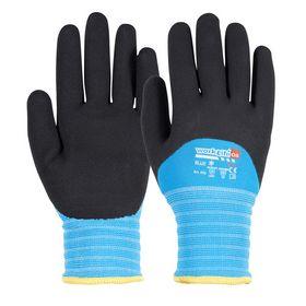 OS - Vinterhandske BLUE latex-dyp