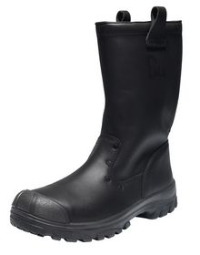 Emma - Sikkerhedsstøvle Dempo Sort Str. 37