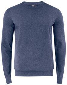 Cutter Buck - Sweater C & B Crewneck Navy Mel