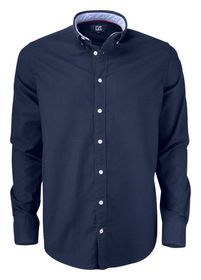 Cutter Buck - Skjorte Oxford C & B Belfair Dark Navy