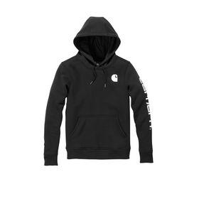 Carhartt - Hættesweatshirt Dame  102791 Black