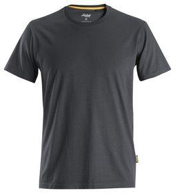 Snickers - T-shirt 2526 Organic Cotton Koksgrå Str. XS