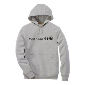 Carhartt - Hættetrøje 103873 Asphalt Str. S