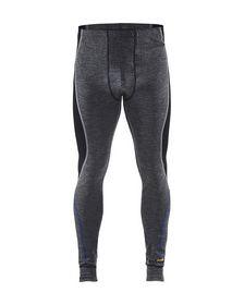 Blåkläder - Underbuks 18491732 Warm Mellemgrå/Sort Str. XS