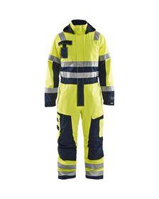 Blåkläder - Hi-viz Vinterkedeldragt 63681530 Gul/Marineblå Str. C46