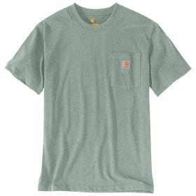 Carhartt - T-shirt m/lomme 103296 Leaf Green/Lysegrøn