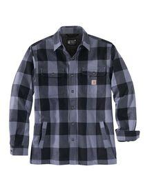 Carhartt - Skjortejakke Foret 104911 Blå tern Str. S-2XL