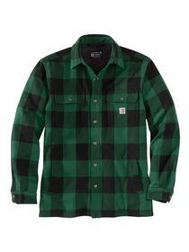 Carhartt - Skjortejakke Foret 104911 Grøn tern Str. S-2XL