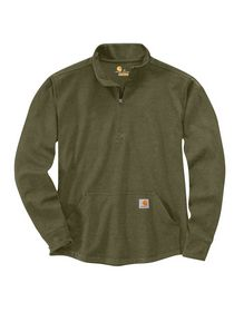 Carhartt - Sweatshirt 1/4 lyn 104428 Grøn Str. S-2XL