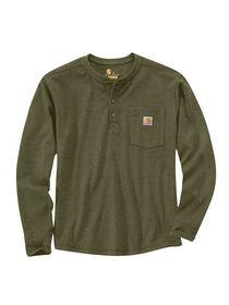 Carhartt - T-shirt Langærmet 104429 Grøn Str. S-2XL