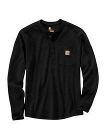Carhartt - T-shirt Langærmet 104429 Sort Str. S-2XL