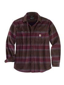 Carhartt - Fleeceskjorte 104913 Brunternet Str. S-2XL