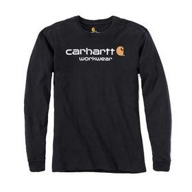 Carhartt - T-shirt Logo Long Sleeve