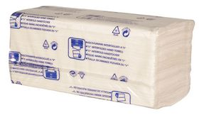 Abena - Håndklædeark 2-lags Hvid 100% nyfiber, á 190 ark