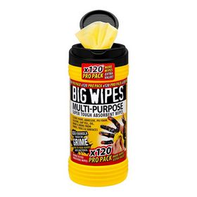 Wipes - Big wipes sort 120 stk