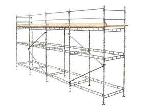 Custers - Tømrerstillads galv. 6x12 mtr